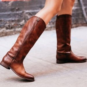 Frye Melissa Tall Leather Riding Boots